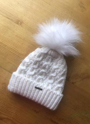 Тепла шапка на флісі