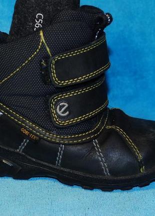 Ecco зимние ботинки 24 размер