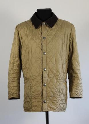 Стеганная куртка barbour lightweight liddesdale quilted jacket розмір m чоловічий