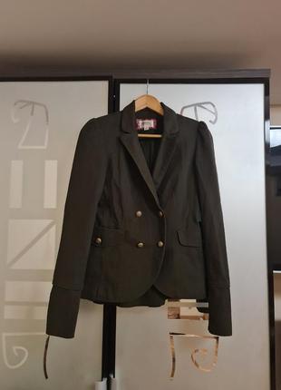 Стильный пиджак bershka р.s-m