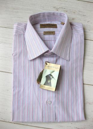 Рубашка taylor & wright хлопок размер 41.