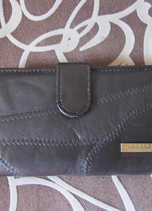 Фирменный кожаный кошелек lorenz