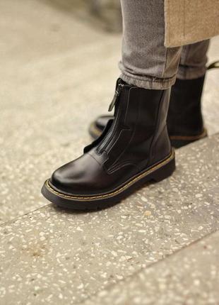 Демисезонные ботинки dr.martens x cold wall с замком черные