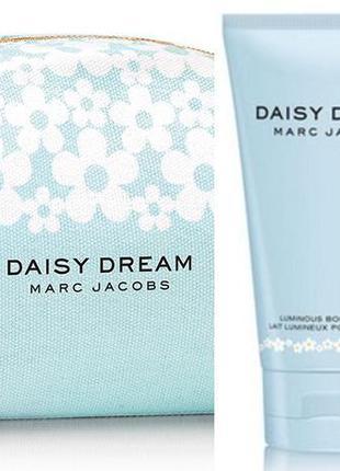 Marc jacobs daisy dream парфюмированный лосьон и косметичка в подарок!