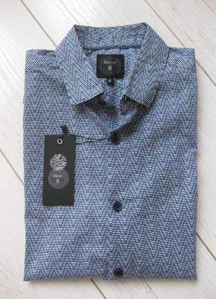 Рубашка silver eight летняя размер s.