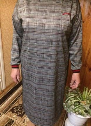 Платье спортшик 52-64 размеров оверсайз