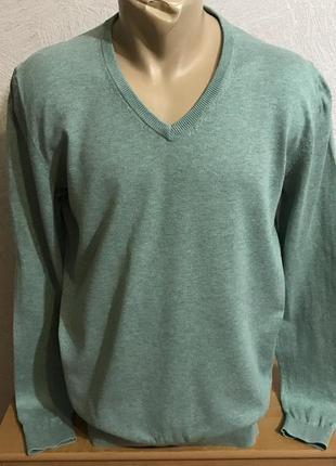 Esprit  пуловер свитер с мысиком мысом  джемпер silk cotton в идеале