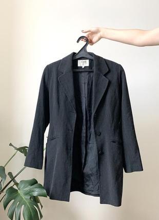 Шерстяной пиджак/классический пиджак/ длинный пиджак/ приталенный пиджак