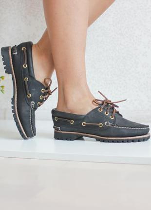 Кожаные ботинки, натуральная кожа нубук, бренд timberland оригинал
