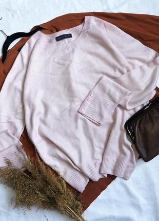 Нежно розовый свитер, джемпер, кофта, реглан