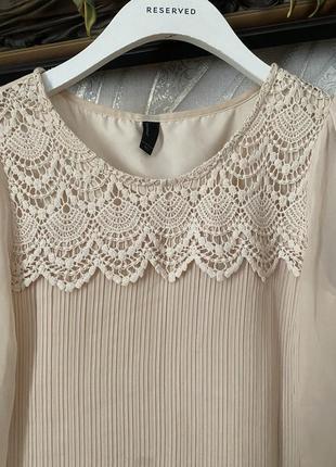 Красивая кружевная блузка vero moda