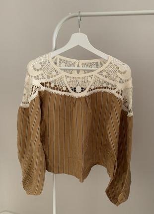 Блуза бохо шик