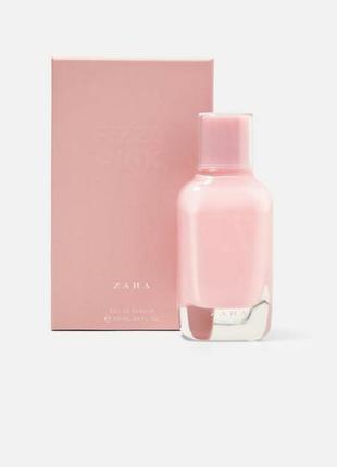 Zara fizzy pink 100ml edp духи. скидка
