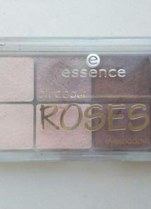 Палетка тени essence all about roses