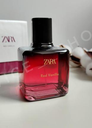 Zara red vanilla духи парфюмерия туалетная вода оригинал испания