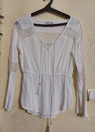 Идеальная белая блуза белая блуза блуза с кружевом