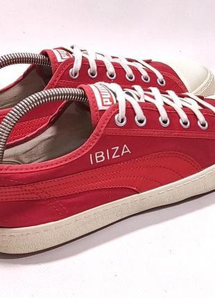 Кеды puma ibiza original кроссовки красные suede classic