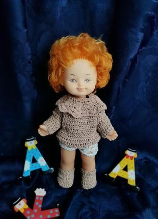 Кукла ссср вера лиза днепропетровского завода игрушек со старым клеймом