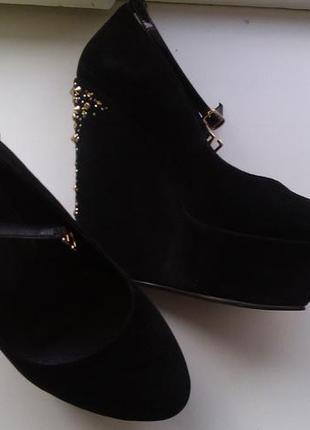 Туфли на платформне