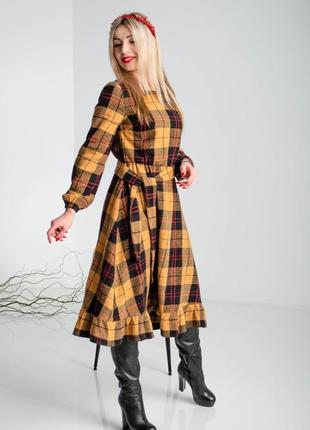 Очень красивое теплое платье 🔥