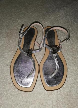 Marc cain босоножки сандалии натуральная кожа