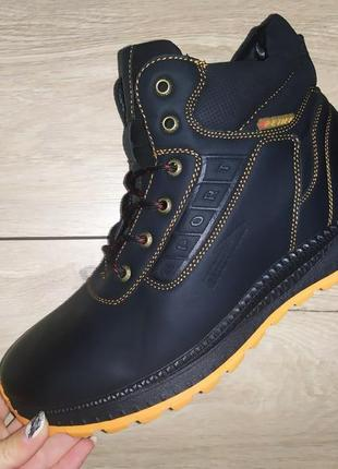 Зимние ботинки ❄️ мужские зимові чоловічі полуботинки