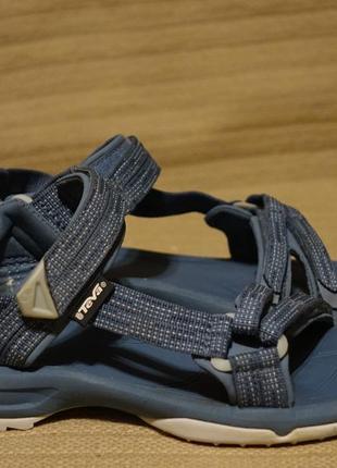 Открытые женские сандалии голубого цвета teva terra fi lite w's 37 р.