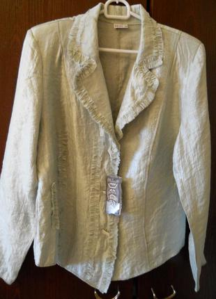 Элегантная блузка - пиджак 48 размера