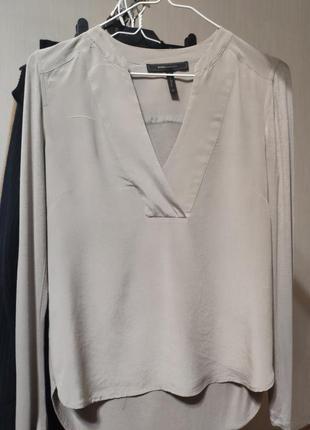 Шёлковая блуза bcbg max azria