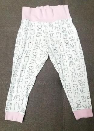 Хлопковые штаны 86/92 см