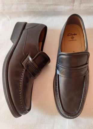 Clarks туфли кожа р.42,5 ст.28см