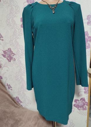 Платье свободного кроя с длинными рукавами от next. скидка до 1 марта!!!2 фото