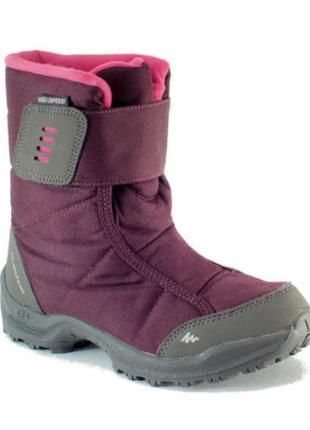 Зимові термо чобітки для дівчинки quechua