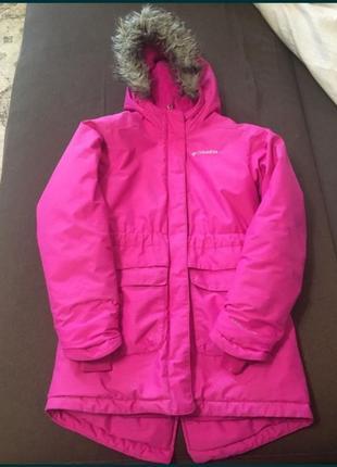 Парка пальто зимняя куртка columbia