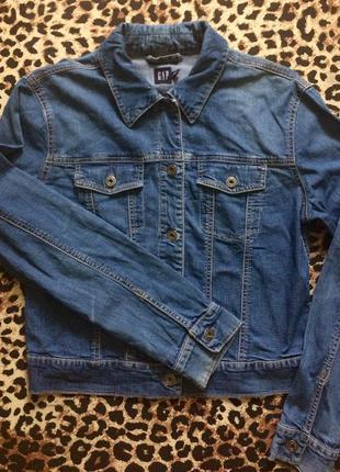 Gap джинсовый пиджак