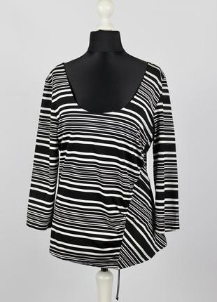 Женская блузка в полоску le tricot longhin