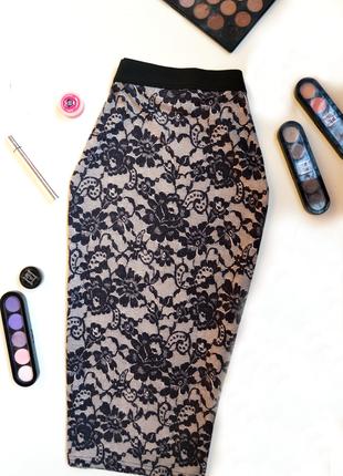 Обворожительная облегающая юбка