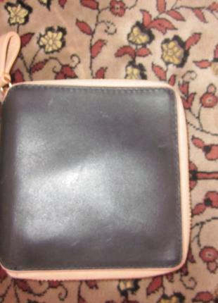 Кожаный кошелек h&m