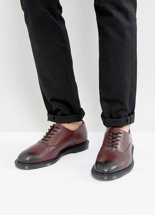 Туфли мужские оксфорды dr. martens