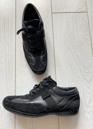 Кроссовки gucci оригинал кожаные