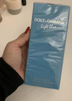 Dolce&gabbana light blue туалетная вода, 100 мл