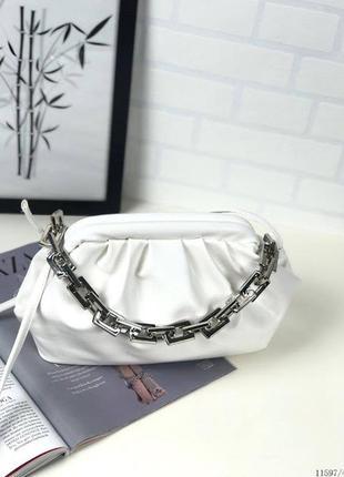 Белая сумка облако