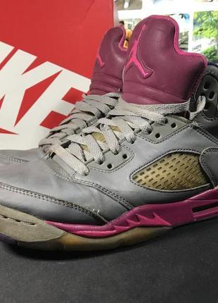 Jordan 5 retro cement grey pink