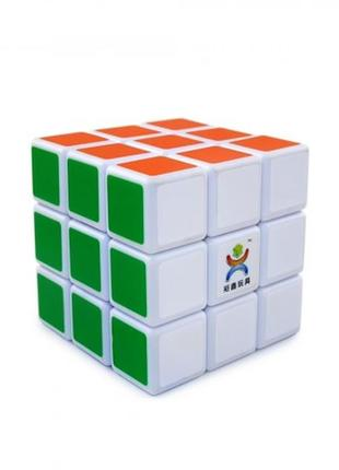 Кубик рубика 3х3 norma (белый) +подарок