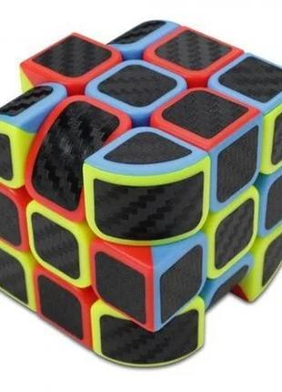 Кубик рубика 3х3x3 penrose cube карбон +подарок