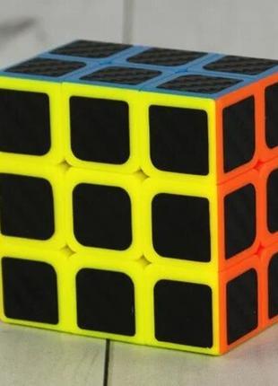 Кубик рубика 3х3х2 карбон+подарок