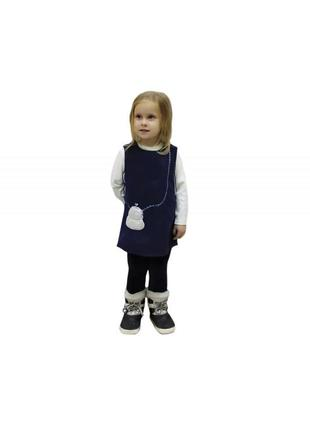 Комплект для девочек с вышивкой. цена зависит от роста