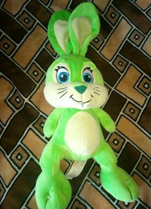 Мягкая игрушка кролик заец migros frey
