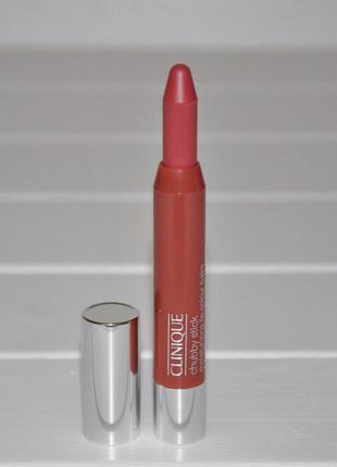 Увлажняющий бальзам для губ clinique chubby stick moisturizing lip тон 10