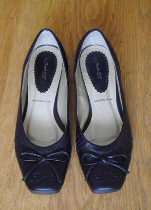 Туфлі шкіряні розмір 3/36 стелька 24 см  janet d